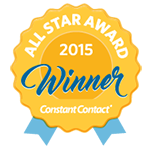 All Star Award 2015 Winner Constant Contact