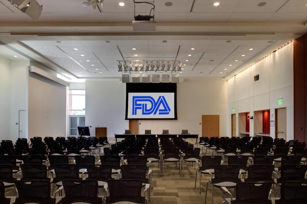 committee room at FDA