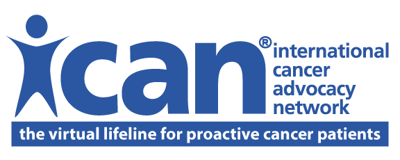 ICAN International Cancer Advocac Network, the virtual lifeline for proactive cancer patients -  Logo