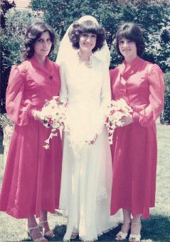 Andy on right- Glenda's Bridesmaid
