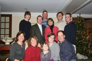 The Tyne Family, Christmas 2009.